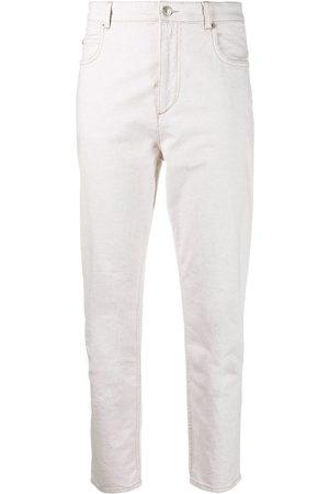 Isabel Marant Étoile Mid-rise skinny jeans - Nude