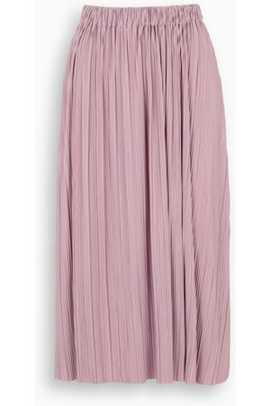Samsøe Samsøe Pink Uma pleated skirt