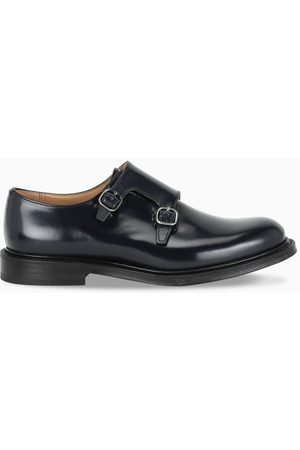 Church's Navy Lambourn Monk Strap shoes