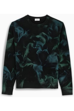 Saint Laurent Jungle tie-dye sweatshirt