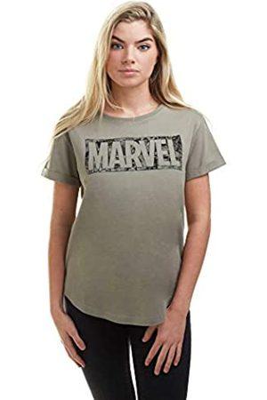 Marvel Damen Shirts - Damen Comic Logo T-Shirt
