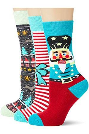 Urban classics Unisex Christmas Nutcracker 3-Pack Socken