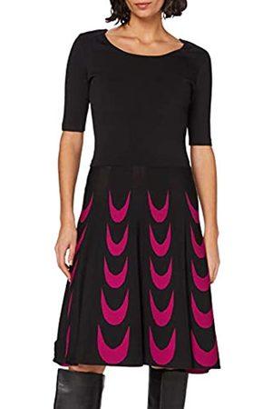 Apart Damen Knitted Dress Cocktailkleid