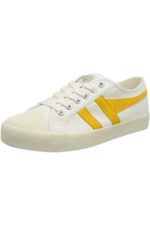 Gola Damen Coaster Sneaker, Off White/Sun