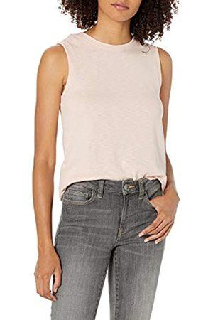 Daily Ritual Cotton Modal Stretch Slub Muscle-Sleeve Swing Tunic Hemd XL