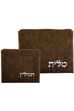 Judaica Unlmited Tallit und Tefilin Taschen-Set mit Kunststoffschutz