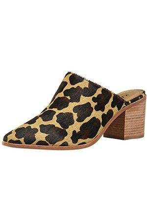 KAANAS Damen Sagrantino Spitzenschuhe mit Absatz, (Leopard)