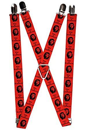 Buckle-Down Herren Hosenträger - Herren Suspender-Che Guevara Strumpfhalter