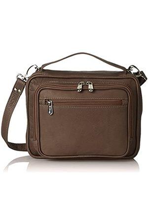 Piel Piel Leder Multi Tablet Carry-All (Braun) - 3012-CHC