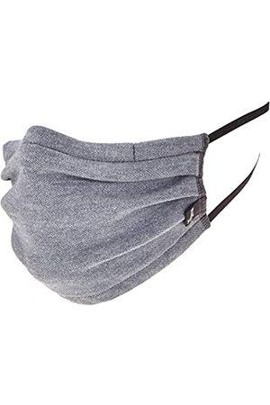 Trigema Herren Schals - Unisex Behelfs- Mund- und Nasenmaske (wiederverwendbar) mit Gummiband im 3er-Pack 620003 Maske