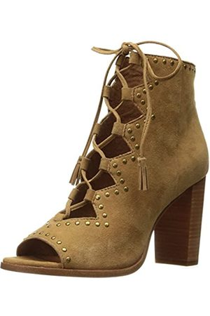Frye Damen Gabby Ghillie Stud Boot, (Sand, Wildleder)