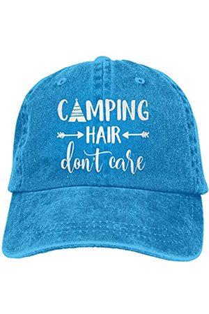 HHNLB Unisex Camping Hair Don t Care 1 Vintage Jeans Baseball Cap Classic Cotton Dad Hat Adjustable Plain Cap - - Einheitsgröße