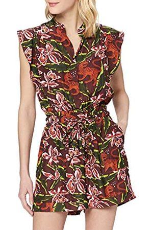Scotch&Soda Maison Damen Playsuit mit floralem Print Jumpsuit