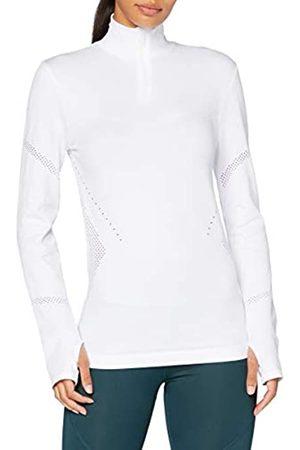 AURIQUE Damen Sweatshirts - Damen Langärmeliges Lauftop mit Reißverschluss , 38