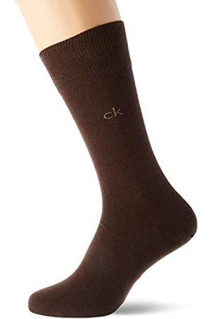 Calvin Klein Herren Socken & Strümpfe - Socks Mens Herren Sneakersocken ECP275, 2er Pack, Schwarz, 43/46 Socks