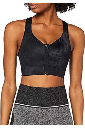AURIQUE Amazon-Marke Damen Sport-BH für mittleren Halt mit Reißverschluss