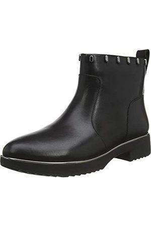 FitFlop Damen Cb1-090 jacinta zip ankle boot - flüssiges quecksilber