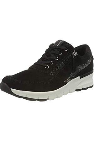Jana 100% comfort Damen 8-8-23725-25 Sneaker, Black
