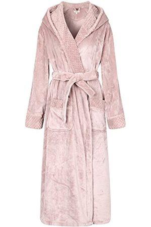 Richie House Richie House Damen Plüsch Weich Warm Fleece Bademantel Robe RH1591 - - Medium
