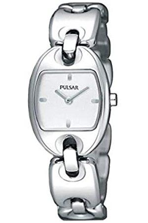 Pulsar Pulsar Uhren Damen-Armbanduhr Modern Analog Quarz Edelstahl PJ5399X1