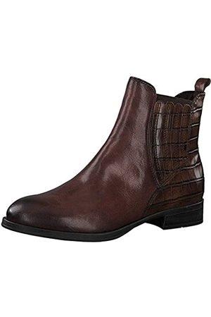 Marco Tozzi Damen 2-2-25301-25 Leder Boot Chelsea-Stiefel, Chestnut A.C