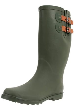 Chooka Damen Top Solid Boots, Grn (olivgrün)