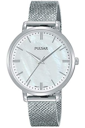 Pulsar Pulsar Quarz Damen-Uhr Edelstahl mit Metallband PH8459X1