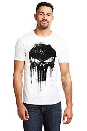 Marvel Herren Avengers Punisher Skull T-Shirt