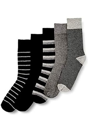 HIKARO HIK0030AM Socken, Mehrfarbig (Uni/Jacquard Mix B), L