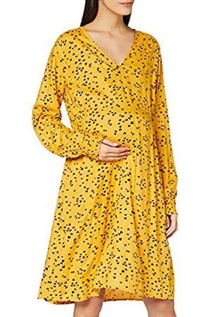 Mama Licious Damen Mlheartsy L/S Woven Abk Dress A. Kleid