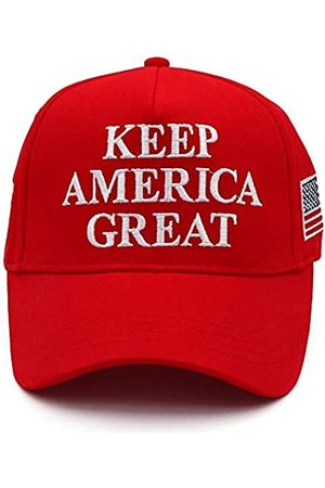 CHUNG CHUNG Keep America Great Hat Trump 2020 USA Flag KAG MAGA Cap Rot Bold Stickerei