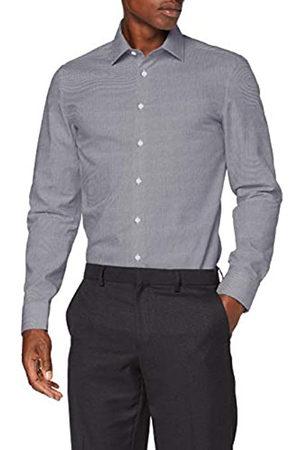 Seidensticker Herren Business Hemd - Bügelfreies, schmales Hemd - Slim Fit - Langarm - Kent-Kragen - 100% Baumwolle