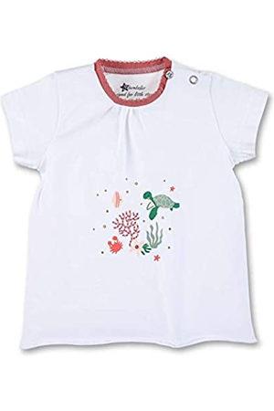 Sterntaler Sterntaler Baby Girls Kurzarm 2642111 T-Shirt, Weiss
