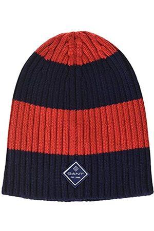 GANT Herren D1. Barstripe Knitted Beanie Ohrenschützer