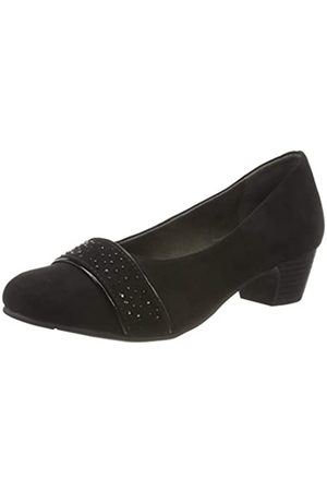Jana 100% comfort Damen 8-8-22320-25 Pumpe, Black