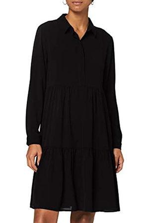 JDY Damen PIPER L/S Shirt Dress WVN NOOS Lässiges Kleid