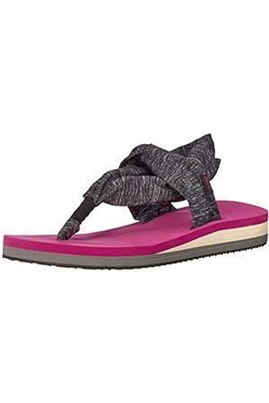 Chooka Damen Yogamatte Fußbett Sling Sport Sandale Flip Flop, Pink (magenta)