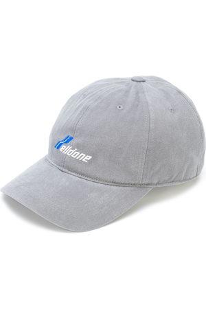 We11 Done Hüte - Baseballkappe mit Logo-Stickerei
