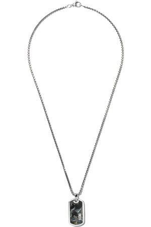 David Yurman Herren Halsketten - Exotic Stone' Anhänger aus Sterlingsilber - SSBPY