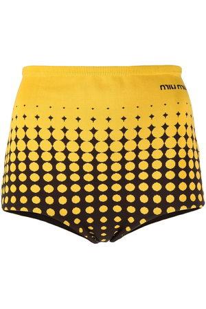 Miu Miu Gestrickte Shorts