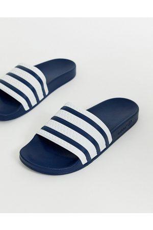 adidas – Adilette – Marineblaue Slider