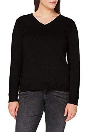 Blue Seven Damen, V-Ausschnitt Pullover