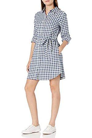 Goodthreads Damen Freizeitkleider - Brushed Flannel Dress button-down-shirts