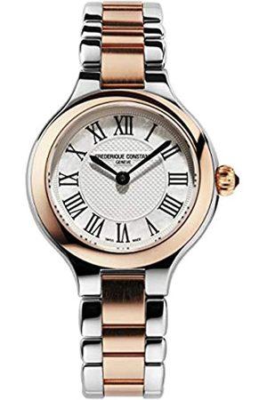 Frederique Constant Frédérique Constant Damen Analog Swiss Quartz Uhr mit Edelstahl Armband FC-200M1ER32B