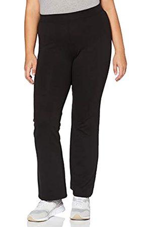Carmakoma Damen Carpever Flared Pants Hose, Black