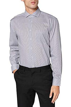 Seidensticker Herren Business Hemd - Bügelfreies Hemd - Comfort Fit - Langarm - Kent-Kragen - Brusttasche - 100% Baumwolle