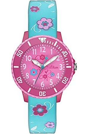 s.Oliver S.Oliver Time Mädchen-Armbanduhr