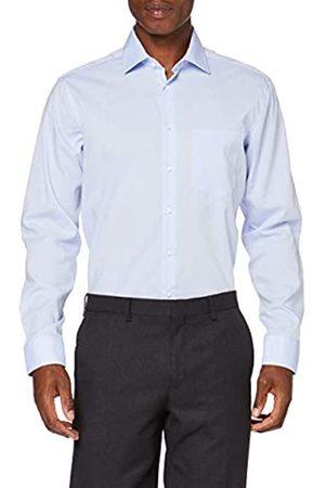 Seidensticker Herren Business Hemd - Bügelfreies Hemd mit geradem Schnitt - Regular Fit - Langarm - Kent-Kragen - 100% Baumwolle