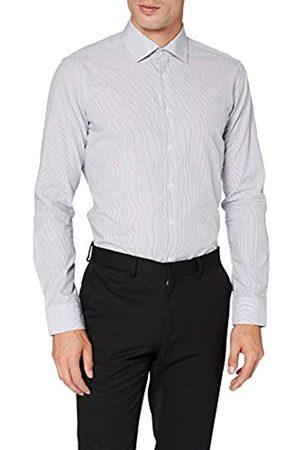 Seidensticker Herren Business Hemd - Bügelfreies Hemd mit sehr schmalem Schnitt - X-Slim Fit - Langarm - Kent-Kragen - 100% Baumwolle