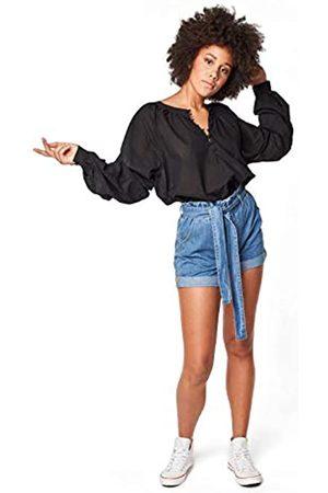 Lee Cooper Damen Paperbag Jeans-Shorts